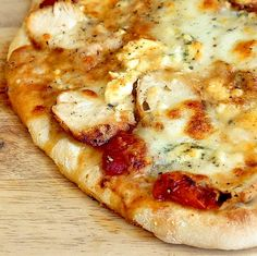 Buffalo Wing Pizza - spicy chicken and blue cheese combine to make a ...