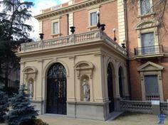 Fundación Lázaro Galdiano conocido originalmente como Parque Florido fue construido en 1903 por orden del coleccionista de arte, editor y bibliógrafo José Lázaro Galdiano fundacion-lazaro-galdiano-12