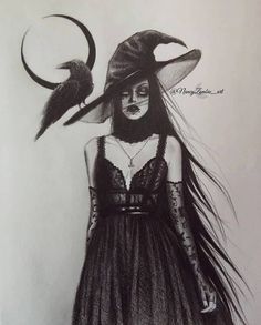 Season Of The Witch, Dark Art, Goth, Seasons, Wizards, Witches, Dresses, Fashion, Gothic