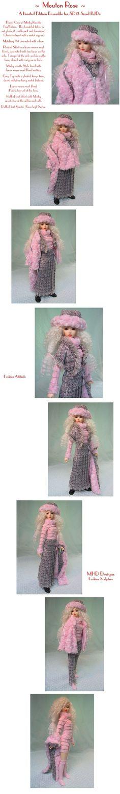 MHD Designs - Pink Lamb