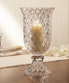 Fifth Avenue Crystal Muirfield Vase/Hurricane Holder