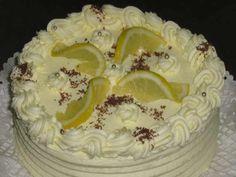 Citromtorta – imádom a citromtortát