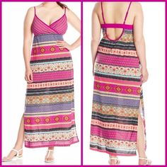 New w/tags summer dress 2X Brand new with tags size 2X Dresses Maxi