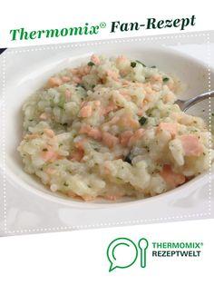 Zucchini-Lachs-Risotto von KleineKüchenfee22. Ein Thermomix ® Rezept aus der Kategorie Hauptgerichte mit Fisch & Meeresfrüchten auf www.rezeptwelt.de, der Thermomix ® Community.