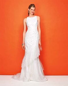 Figure flattery best wedding dress for pear shapes 1