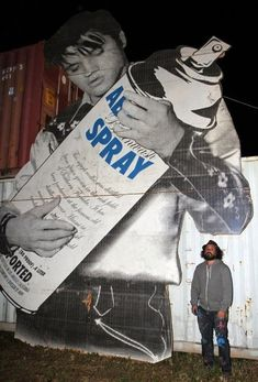 Mr. Brainwash Photos: ABSOLUT VODKA Pop-Up, Art Basel Miami