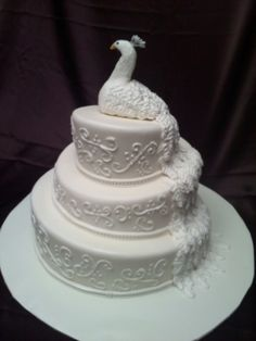 Top 10 Peacock Wedding Cakes