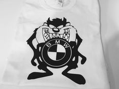 FUNNY BMW EVIL PRINTED T-SHIRT TOP BIRTHDAY T-SHIRT GREAT GIFT PRESENT #Gildan #BasicTee