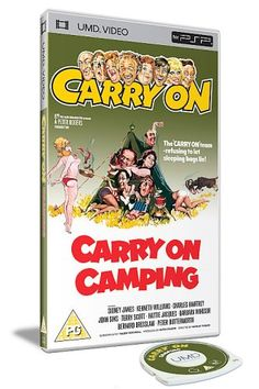 Carry On Camping [UMD Mini for PSP] 5*****
