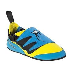 Youth 158980: Mad Rock Kids Mad Monkey Climbing Shoe Blue Yellow 1 M Us -> BUY IT NOW ONLY: $48.2 on eBay!
