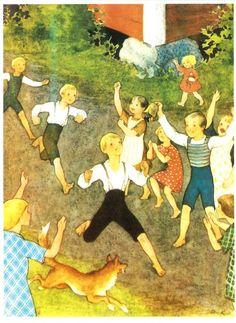 Rudolf Koivu - Meidän pihan urheilijat (1932), juoksu -kortit