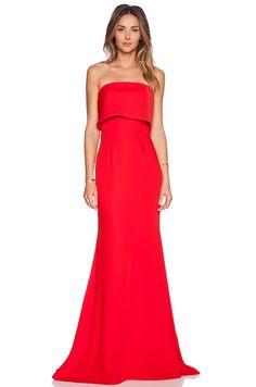 JARLO Blaze Maxi Dress in Red   REVOLVE