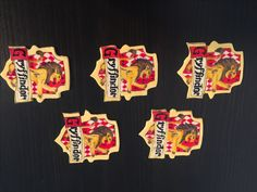 Gryffindor edible cupcake toppers