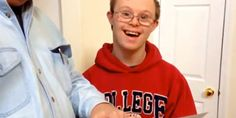 This Student With Down Syndrome Receiving His College Acceptance Letter Will Melt Your Heart (Way to go, kid!)