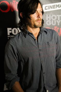 Actor Norman Reedus arrives at FOX International Studios' ComicCon Party Celebrating Robert Kirkman's New Drama 'Outcast' on July 9 2015 in San Diego...
