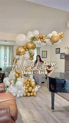 Birthday Balloon Decorations, Balloon Crafts, Birthday Party Decorations, Table Decorations, Ballon Arch Diy, Balloon Arch, Balloon Garland, Wedding Balloons, Deco Ballon