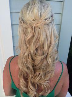 Half Up Braided Hairstyle