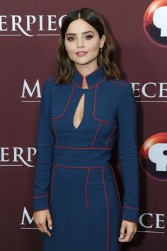 Jenna-Louise Coleman (born 27 April credited since 2013 as Jenna Coleman Doctor Who, Eleventh Doctor, Gamine Style, Soft Gamine, Beautiful Celebrities, Beautiful Actresses, Beautiful Women, Beautiful People, Jenna Coleman Style