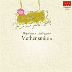 With #MothersDay coming tomorrow, here is something we suggest to make her smile   Walk into the nearest #Wstore with your Mom, style her and send us a click with her and win goodies. #MomsDayOut