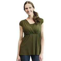 5bffd86e8b Maternity Styles - Hatoys Women Soft Striped Tunic Top Pregnant Nursing  Baby TShirt Blouse Clothing Maternity
