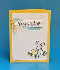 the Lawn Fawn blog: Lots of Info + Easter cards!
