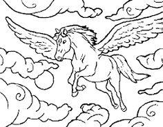 9 Fantastiche Immagini Su Cavalli Coloring Books Coloring Pages E