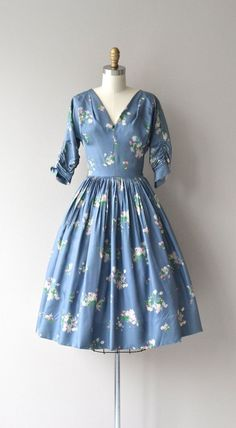Garden in the Sky dress vintage 1950s dress floral by DearGolden - burgundy summer dress, womens dress clothes, dresses for parties for juniors *sponsored https://www.pinterest.com/dresses_dress/ https://www.pinterest.com/explore/dresses/ https://www.pinterest.com/dresses_dress/denim-dress/ http://www.shabbyapple.com/clothing/dresses