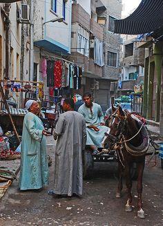 Luxor Market, Egypt. Luxor is a city in Upper (southern) Egypt. (V)
