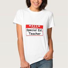 Hello, I Am A Special Ed Teacher Tee T Shirt, Hoodie Sweatshirt