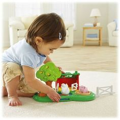 Shop for Little People® Pond & Pig Pen and buy something new for your little one to explore. Find the perfect Little People toddler toys right here at Fisher-Price. Toddler Toys, Baby Toys, Kids Toys, Farm Activities, Toddler Activities, Little People, Little Ones, Baby's First Birthday Gifts, Birthday Ideas