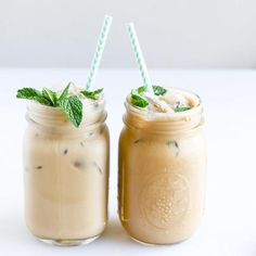 These 10 iced coffee recipes are addictive and refreshing for the summertime. It's too hot to warm up to your mug, so grab a mason jar or chilled glass and sip on one of these cool recipes. Get fixed on our Fresh Mint Iced Coffee, or our Skinny Caramel Frappe and get your morning/afternoon buzz on.