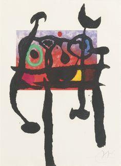 Le Samouraï by Joan Miró