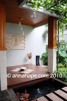 desain mushola mungil di teras belakang rumah | home ideas