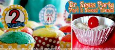 Dr. Seuss Sweets: Cupcake Wrappers & Toppers, plus Schlopp with a cherry on top!