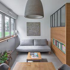 Studio Apartment, Apartment Design, Studio Apt, Apartment Ideas, Cube Shelving Unit, Elevated Bed, Minimalist Sofa, Room Diffuser, Small Floor Plans
