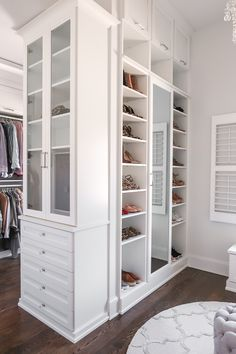 Happy Friday, everyone!! I'm so excited to FINALLY share my completed master closet renovation with California Closets today! When I f...