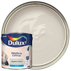 Dulux Silk is a smooth and creamy emulsion paint for use on walls and ceilings which is ideal for a delicate shine finish. Dulux White Mist, Dulux White Cotton, Dulux Blue, Dulux Polished Pebble, Dios, Paintings, Colors
