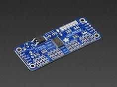 Adafruit 16-Channel PWM / Servo HAT for Raspberry Pi - Mini Kit ID: 2327 - $17.50 : Adafruit Industries, Unique & fun DIY electronics and kits
