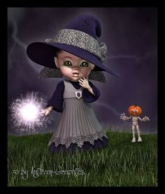 Anitram Graphics Kobold, Little Designs, Square Card, Art Forms, Scary, Witch, Horror, Digital Art, Fantasy