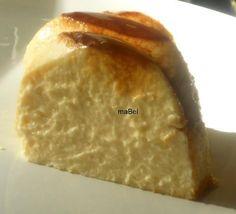 Flan de yogur griego