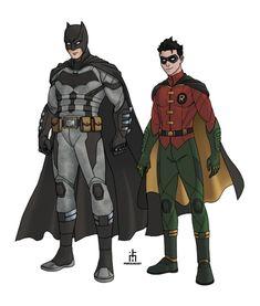 Batman Gotham Knight, Batman And Superman, Batman Art, Batman Robin, Robin Cosplay, Batman Cosplay, Robin Costume, Dc Comics Characters, Dc Comics Art