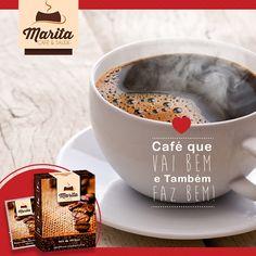 Nosso café é do bem e faz bem