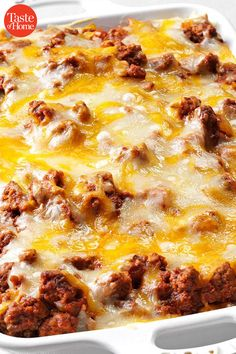 40 of Grandma's Best Ground Beef Recipes - - You can do so much with ground beef—from meatballs to stews and casseroles. But we all know that grandma's ground beef recipes were the best. Hamburger Meat Recipes Ground, Best Ground Beef Recipes, Healthy Ground Beef, Hamburger Dishes, Ground Beef Recipes For Dinner, Healthy Beef Recipes, Dinner With Ground Beef, Sushi Recipes, Cooking Recipes