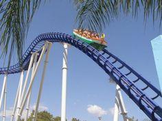 Montanha Russa | Aquashow Family Park | #Portugal. #rollercoaster