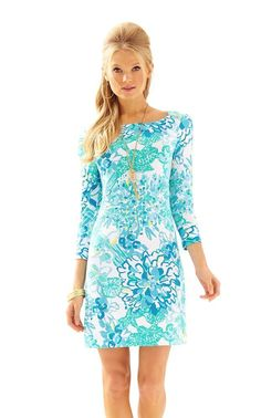 UPF 50+ SOPHIE DRESS - RESORT WHITE BY LILLY PULITZER