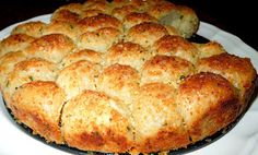 Melissa's Southern Style Kitchen: Garlic-Parmesan Cheese Pull Apart Bread...so easy love it