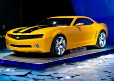 Most people would want a Rolls or a Benz for their weekend car...I want a Bumblebee Camaro for mine!!!