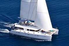 Nova, a stylish Lagoon 620 catamaran, early 2011 launch. Available from May 2011 in Greece for charters with dedicated crew.