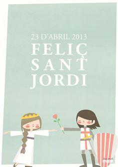 Bon Sant Jordi! by Apanona