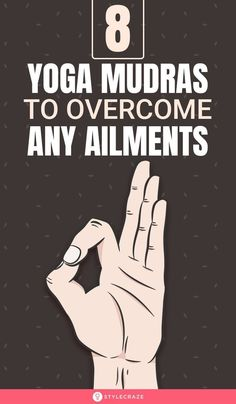 Mudras mean gestures adopted during pranayama and meditation that directs and regulates the flow of energy into our body. Yogic tantras say that these mudra yoga techniques stimulate different areas of the brain. Here are 8 yoga mudras to overcome any ailment. #yoga #yogaposes #ailments You Fitness, Fitness Goals, Health Fitness, Learn To Meditate, Advanced Yoga, Yoga Poses For Beginners, Pranayama, Spiritual Practices, Yoga Flow